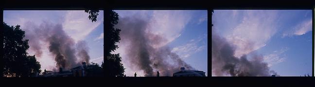 Smoke in Brockley