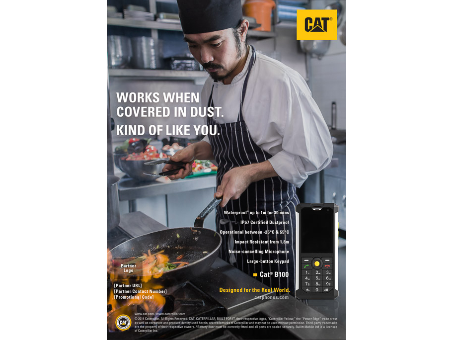 CAT PHONE CHEF