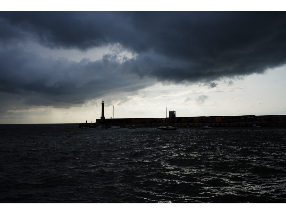 Margate Stormy Harbour