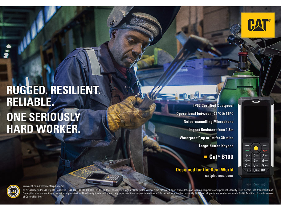 CATERPILLAR MOBILE PHONE WELDER